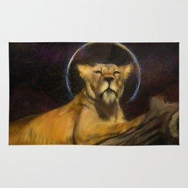 royal lion Rug