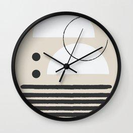 Abstract Modern Art Wall Clock