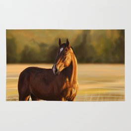 Looking of to the sunset Rug