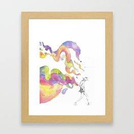3am Framed Art Print