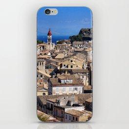 Corfu Town, Greece iPhone Skin