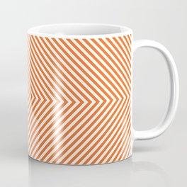 orange diamond Coffee Mug