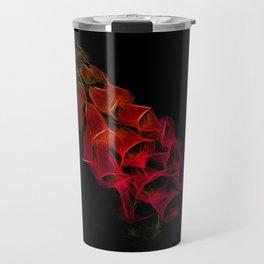 Fantastical Phosphorescent Foxglove Travel Mug