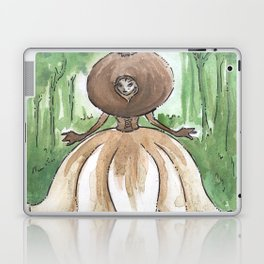 Empire of Mushrooms: Geastrum minimum Laptop & iPad Skin