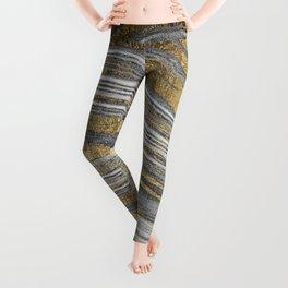 Abstract paint modern Leggings