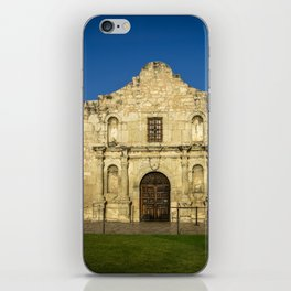 Empty Alamo iPhone Skin