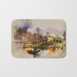 Venezia, Canal Grande Bath Mat