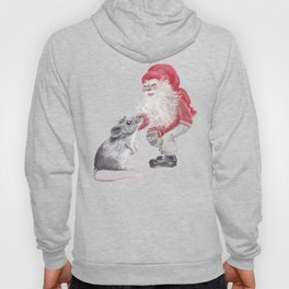 Gnome and mouse Hoody