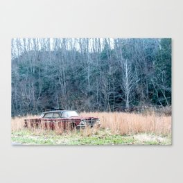 Left to Rust Canvas Print