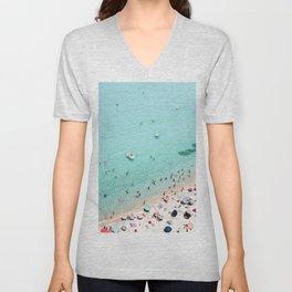 Beach Day Unisex V-Neck