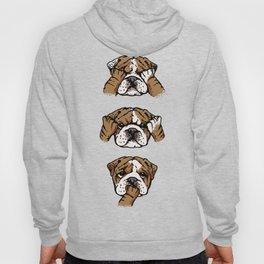 No Evil English Bulldog Hoody