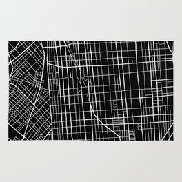 Fishtown and South Kensington Map Rug