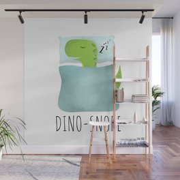 Dino-Snore Wall Mural
