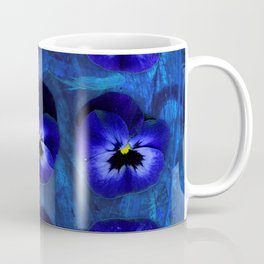 Deep Blue Velvet Coffee Mug