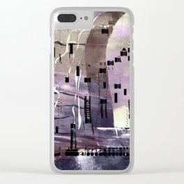 Climatic Chaos Clear iPhone Case