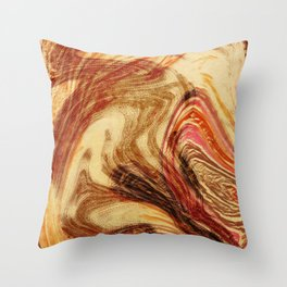 you know that i know pt two Throw Pillow
