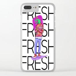 Raptor Fresh Clear iPhone Case