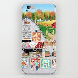 Autumn Quilts iPhone Skin