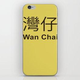 Wan Chai Hong Kong iPhone Skin