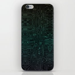 Circuitry Details iPhone Skin