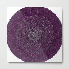 purple hearts Metal Print