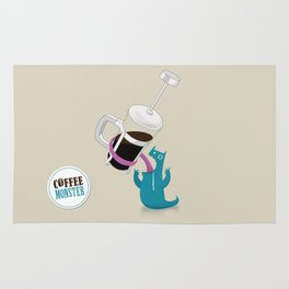 Coffee Monster Rug