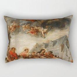 Classic painting of the saints Rectangular Pillow
