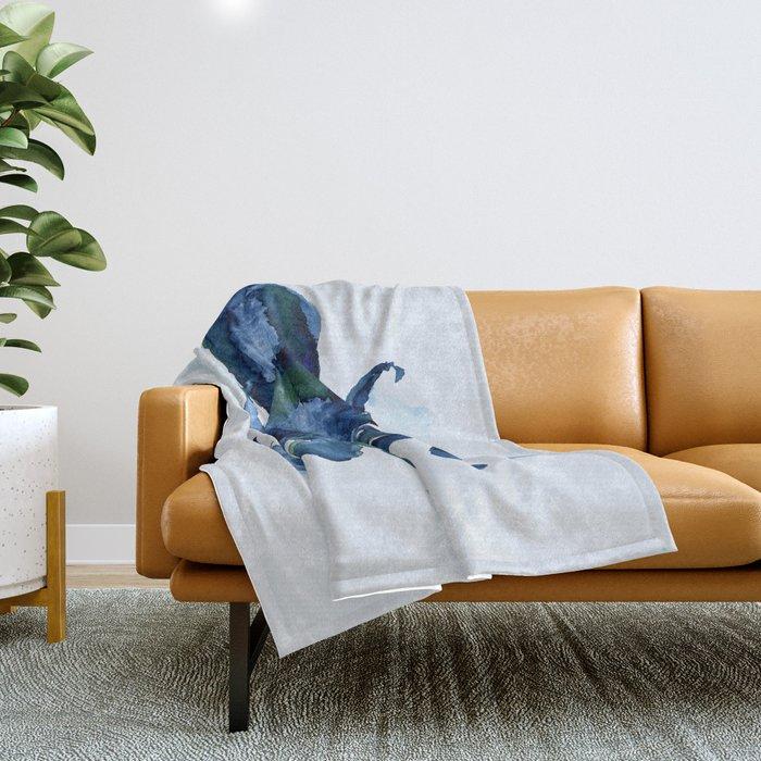 Oceanic Octo Throw Blanket
