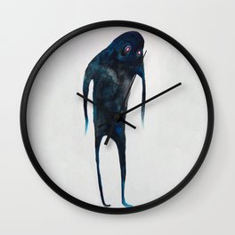 Galaxy Ghost  Wall Clock
