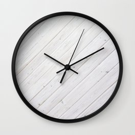 Wooden Boards Wall Clock