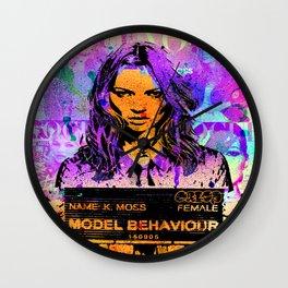Bad Girl Kate Wall Clock