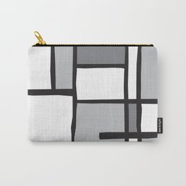 Mondrian Variation 3 Carry-All Pouch