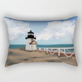 Brant Point Light Rectangular Pillow