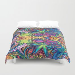 Trippy Weed Duvet Cover