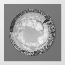 Seattle Crystal Ball Canvas Print