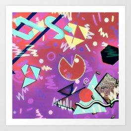 80s Vibes Art Print
