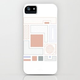 Quite Basic #3 iPhone Case