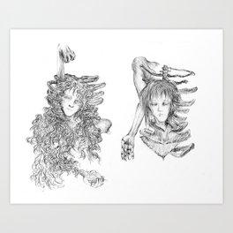 External Conflict Art Print