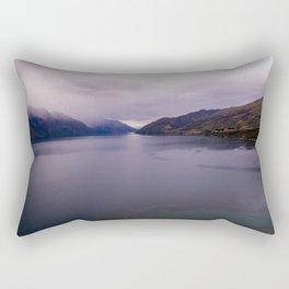 Lake Hawea lake wakatipo blue crystal clear panorama Rectangular Pillow