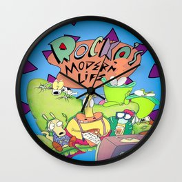 Rocko's Family  Wall Clock