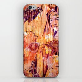 Telse and Magdalena or the question: how free is a Dithmarscher? iPhone Skin