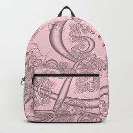 Blushing Bride Fractal Backpack