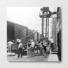Embarcadero San Diego Metal Print
