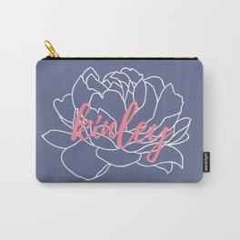 Kinley - Slate Coral Carry-All Pouch
