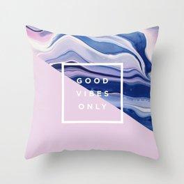 it's a vibe | bleu's creations Throw Pillow