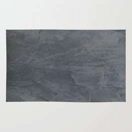 Slate Gray Stucco - Faux Finishes - Rustic Glam - Venetian Plaster Rug