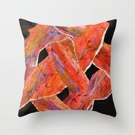 Sane Basketcase Throw Pillow