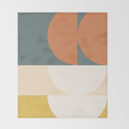 Abstract Geometric 02 Throw Blanket