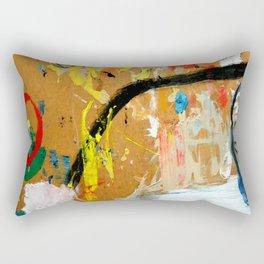Poesia Urbana Rectangular Pillow