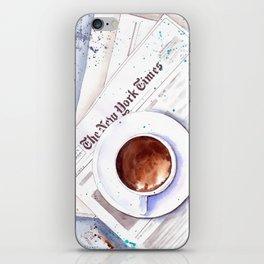 Cup of coffee iPhone Skin
